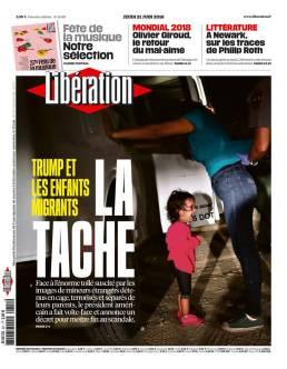 Libération, 21/06/2018.