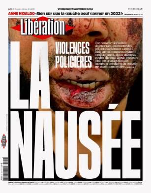 Libération, 27/11/2020.