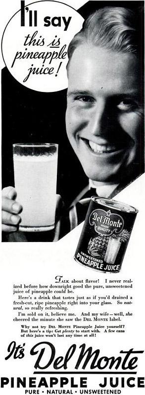 Publicité, Life, 1937.
