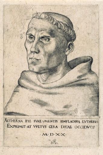 Cranach, Luther, 1520.