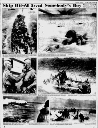 The Milwaukee Sentinel, 9 juin 1944.