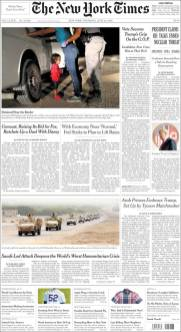 New York Times, 14/06/2018.