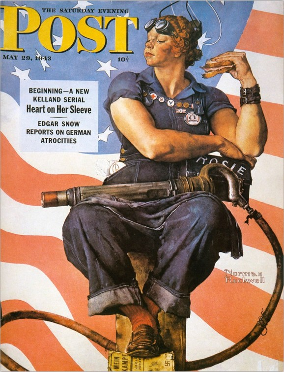 Norman Rockwell, couverture du Saturday Evening Post, 29/05/1943.