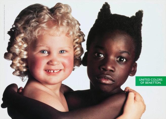 O. Toscani, United colors of Benetton, 1991.