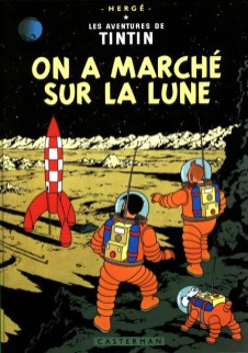Hergé, On a marché sur la Lune, 1954.