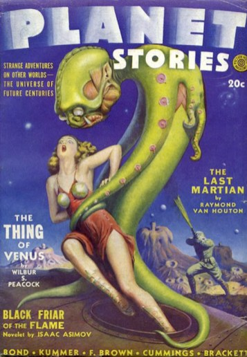 Planet Stories, 1942.