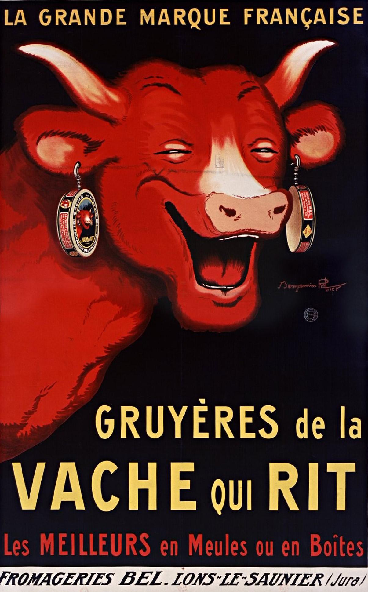 Benjamin Rabier, La Vache qui rit, 1926.