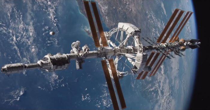 The Martian, vaisseau spatial.
