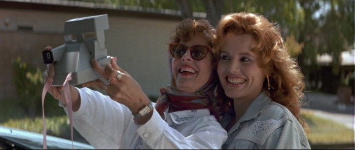 Thelma & Louise, Ridley Scott, 1991 (photogramme).