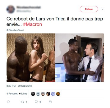 Twitter_Macron_LarsvonTrier