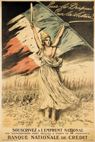 10. Georges-Bertin Scott, affiche, 1917.