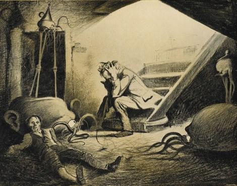 Alvim Correa, La Guerre des Mondes, Vandamme, 1906.