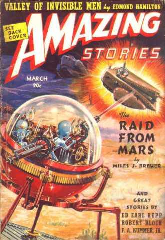 Amazing Stories, 1939.