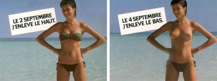 Campagne publicitaire Avenir, 1981.