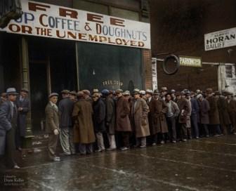 Dana Keller, col. de Great Depression, Chicago, 1931.