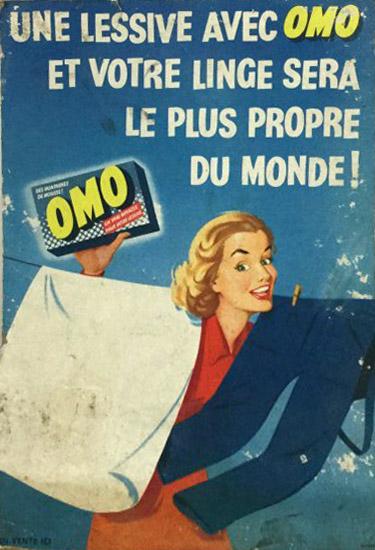 Publicité Omo 1952.