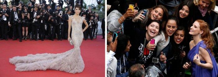 24. Evolution des formes de la célébrité (Cannes, 2012/2014).