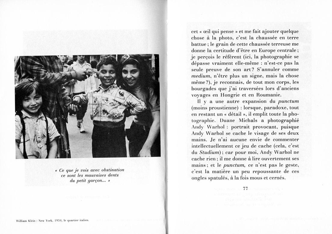 La chambre claire note sur la photographie l 39 image sociale - Barthes la chambre claire ...