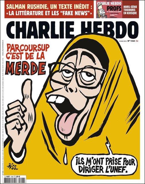 Charlie Hebdo, 23/05/2018.