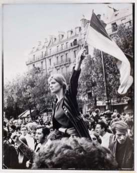 Jean-Pierre Rey, Paris, 13 mai 1968.