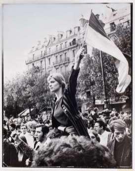 Jean-Pierre Rey, Paris, 13 mai 1968.