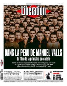 Libération, Une du 26/10/2016.
