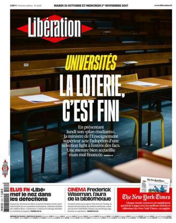 Libération, 31/10/2017.