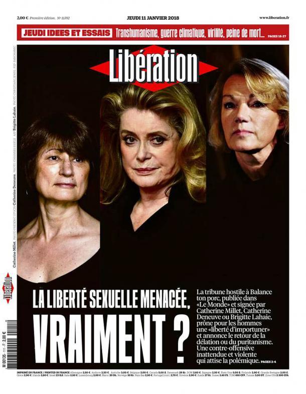 Libération, 11/01/2018.