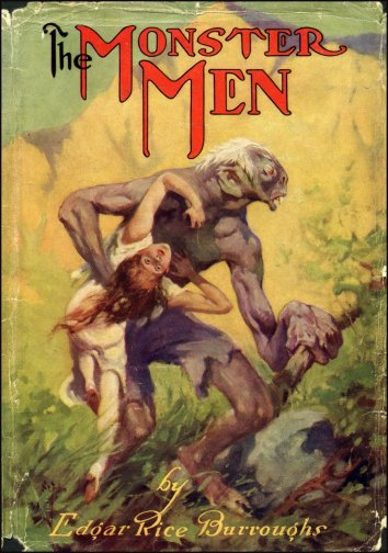 J. Allen St. John, couverture de The Monster Men, 1913.