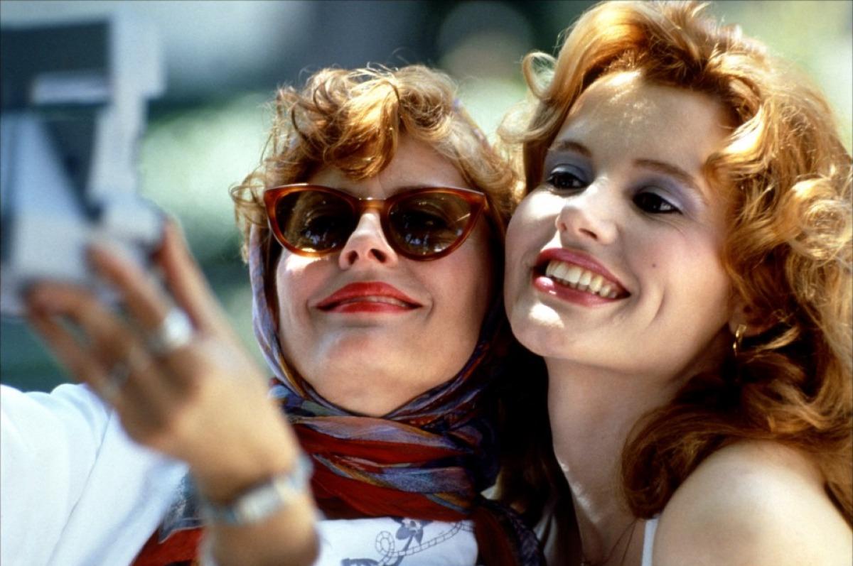 Le selfie de Thelma et Louise (1991)
