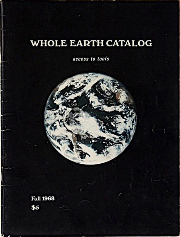 Whole Earth Catalog, 1968.