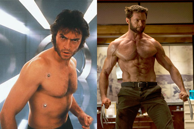 Hugh Jackman, Wolverine, 2000/2014.