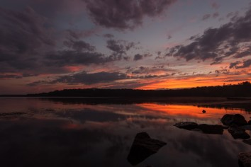 Riverside Park Sunset, George Washington Memorial Parkway. Nikon D200, Tokina 11-16 2.8 @ 11mm, ISO 100, f/16, 1/2 sec