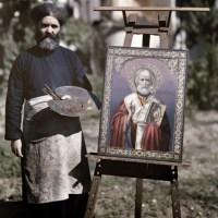 Color portraits of Greece