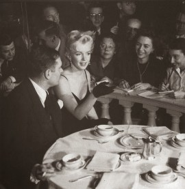 Marilyn Monroe & Laurence Olivier at a Press Conference at the Plaza Hotel, (7)