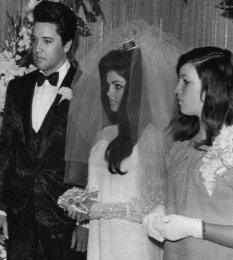 Elvis and Priscilla's Wedding May 1, 1967 (11)