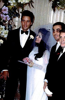Elvis and Priscilla's Wedding May 1, 1967 (12)