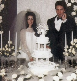 Elvis and Priscilla's Wedding May 1, 1967 (2)