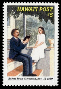 150th_Anniversary_of_Robert_Louis_Stevenson's_Birth-Stamps