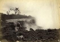 1881 Mauna Loa flow threatening Hilo-Photo by L.B. Mayson-BishopMuseum