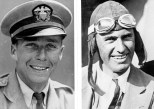 1927-8-16 Dole Derby Woolaroc-William W. Davis, navigator, and Arthur C. Goebel, finished first lin a time of 26 hours, 17 minutes and 33 second