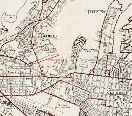 1949-Honolulu and Vicinity-Transit-Map-portion