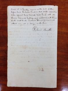 299 year lease for the land, granted to Charlton by Kalanimoku in 1826 Charlton Agreement (402-2-21)