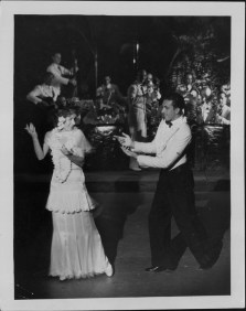 3-Oni Oni, with dancers Hazel Hale and Clayton Ramler at the Royal Hawaiian Hotel-P-4-3-008-Oct 10, 1934