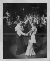 6-Oni Oni, with dancers Hazel Hale and Clayton Ramler at the Royal Hawaiian Hotel-P-4-3-019-Oct 10, 1934