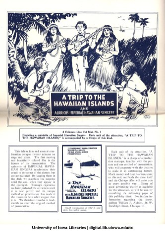 A Trip to the Hawaiin Islands and Aldrich's Imperial Hawaiian Singers-1