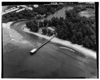 AERIAL VIEW OF PIER Photographer-unknown. Date-June 20, 1978-(LOC)-058525pv