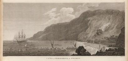A_view_of_Karakokooa,_in_Owyhee_by_John_Webber