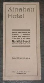 Ainahau Hotel-brochure-1913