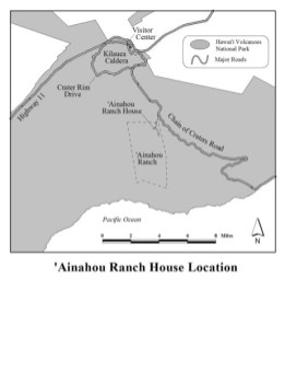 Ainahou Ranch location map-NPS